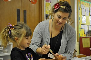 Jenna teaches at Westminster Preschool Lincoln Nebraska